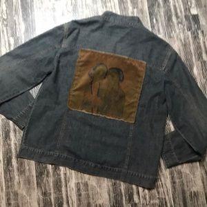 Fun jean jacket very lightweight